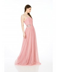 Rochie lunga  tulle