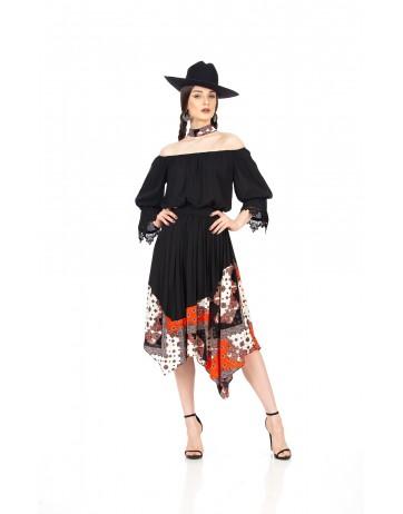 Rochie cu colturi
