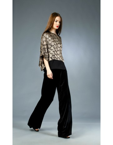 Pantalon catifea