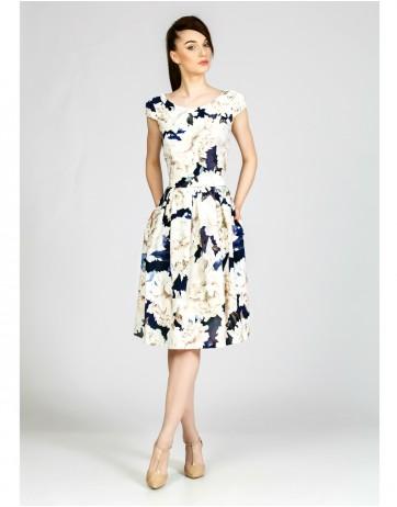 Rochie imprimata flori
